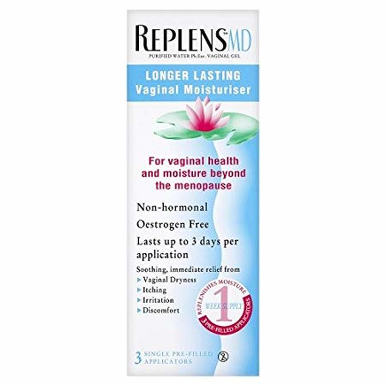 REPLENS VAGINAL MOISTURISER 3 APPLIC