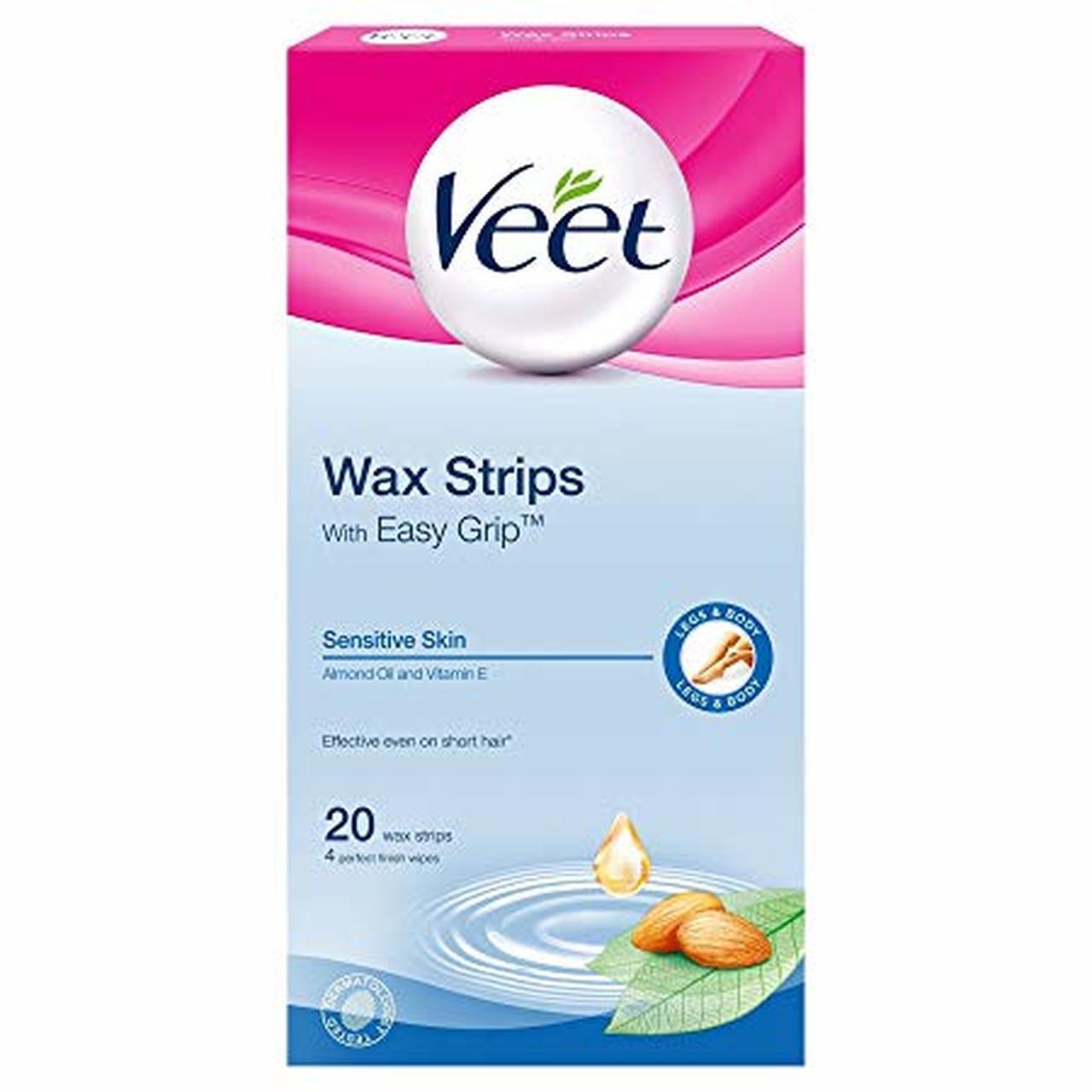VEET SENSITIVE READY TO WAX LEG STRI