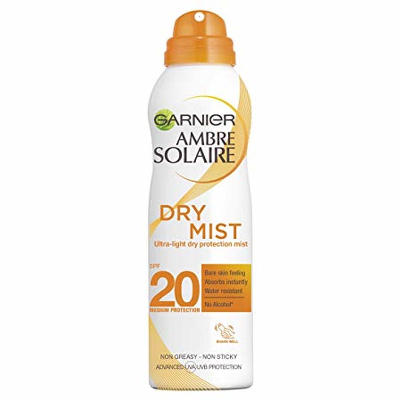 GARNIER AMBRE SOLAIRE DRY MIST SPF 20