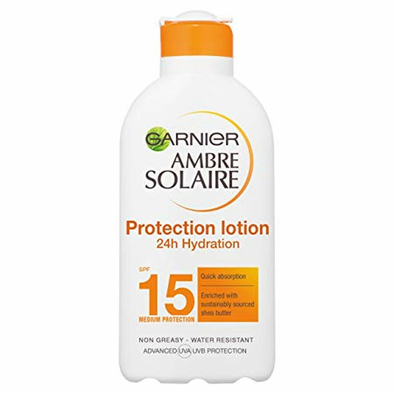 AMBRE SOLAIRE HIGH PROTECTION MILK F