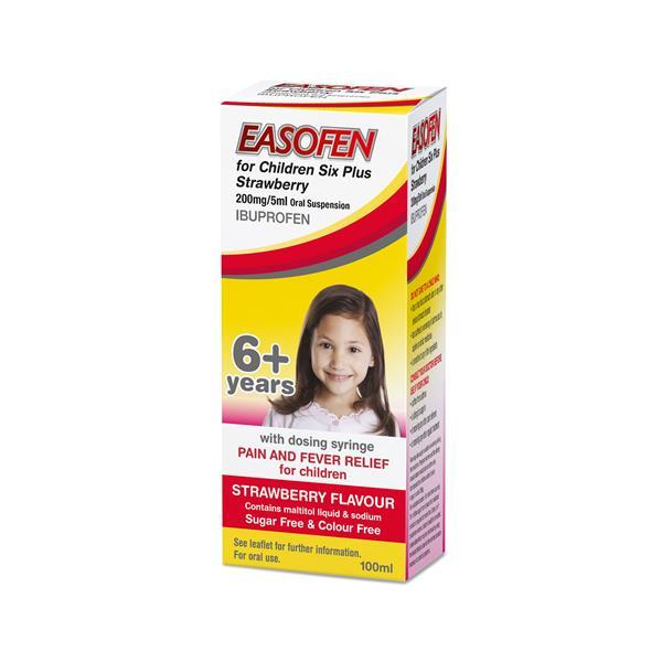EASOFEN FOR CHILDREN SIX PLUS