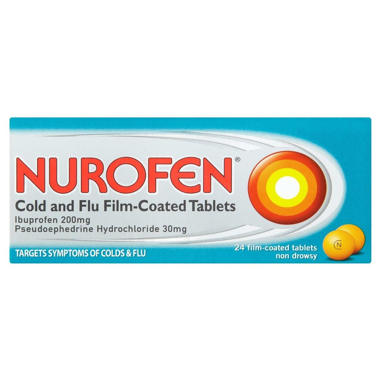 NUROFEN COLD AND FLU TABS