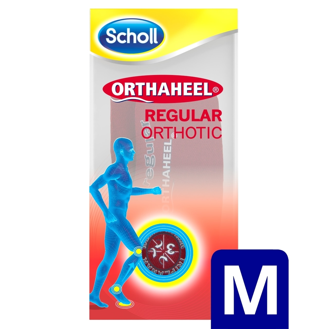 SCHOLL ORTHAHEEL REGULAR L