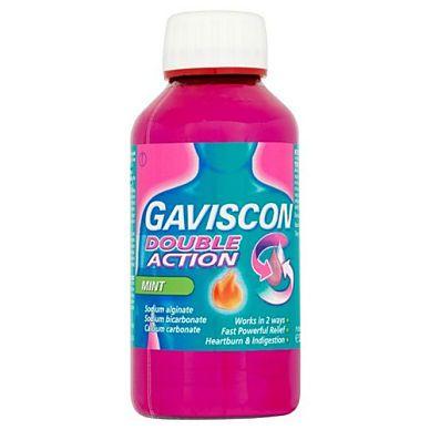 GAVISCON EXTRA PEPPERMINT LIQUID