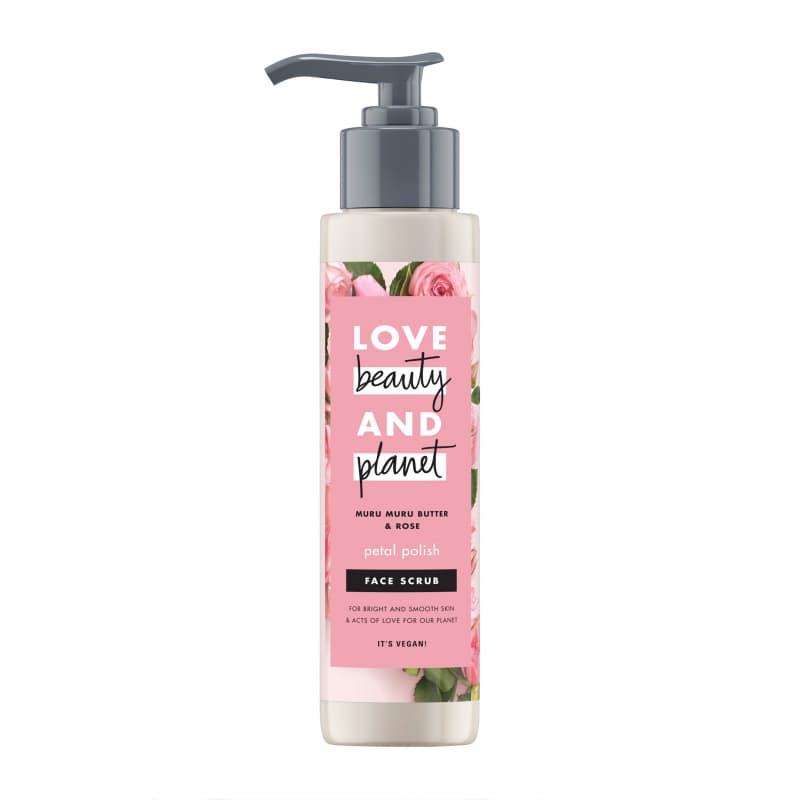 LOVE BEAUTY AND PLANET FACE SCRUB