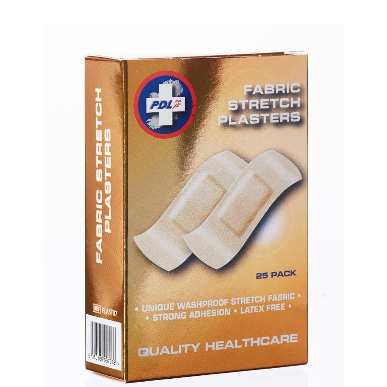 PHARMACARE FABRIC STRETCH PLASTERS