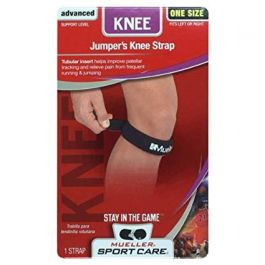 JUMPERS KNEE STRAP BLACK ONE SIZE