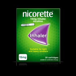 NICORETTE 15MG INHALER 20 CART GMS O