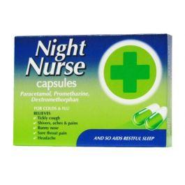 NIGHT NURSE CAPSULES 10