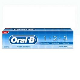 ORAL B TOOTHPASTE 123