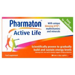 PHARMATON ACTIVE LIFE CAPLETS