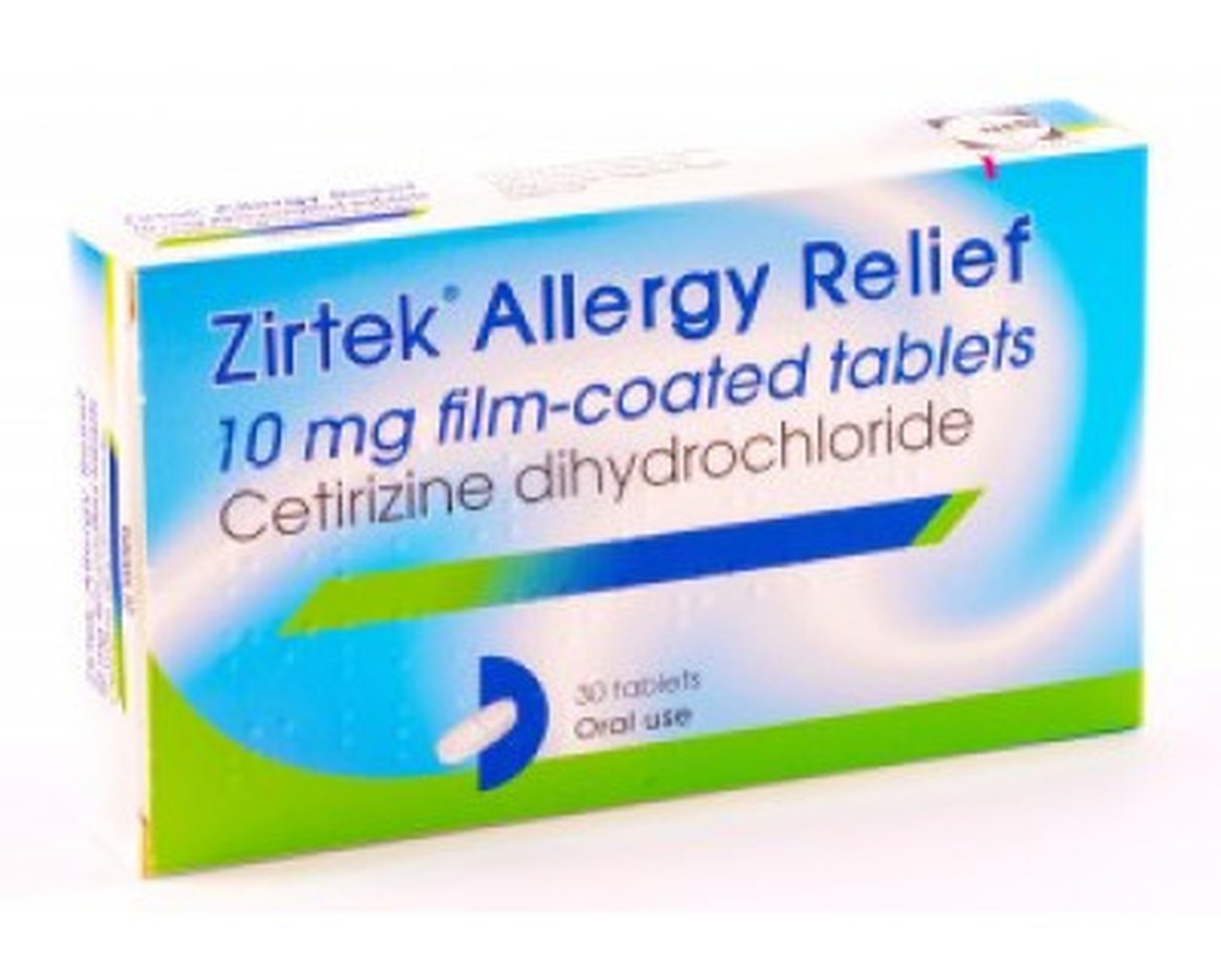ZIRTEK ALLERGY RELIEF 10MG FC TABS OTC